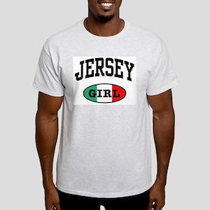 Italian Jersey Girl Ash Grey T-Shirt