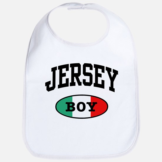Italian Jersey Boy Bib