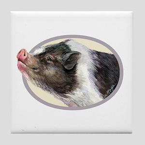Potbellied Pigs Tile Coaster