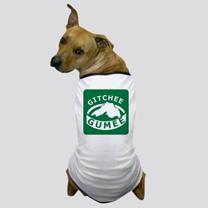 Gitchee Gumee - Lake Superior Dog T-Shirt