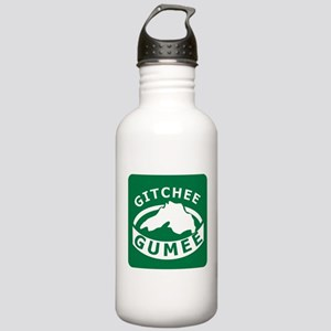 Gitchee Gumee - Lake Superior Stainless Water Bott