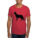 Christmas or Holiday German Shepherd Silhouette Da