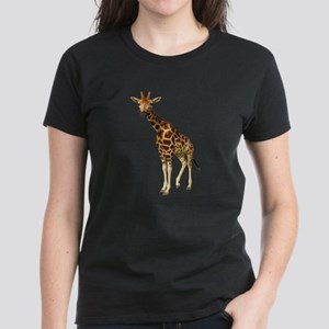 The Giraffe Women's Dark T-Shirt