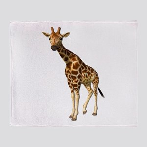 The Giraffe Throw Blanket