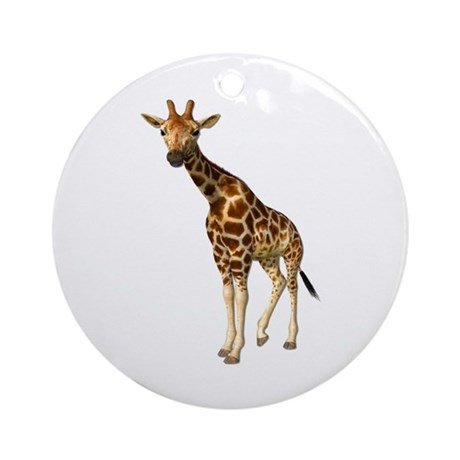 The Giraffe Ornament (Round)
