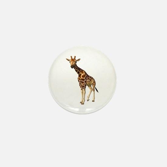 The Giraffe Mini Button