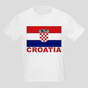 Croatia Flag Kids T-Shirt