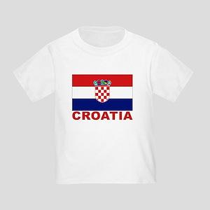Croatia Flag Toddler T-Shirt