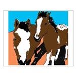 Paint Horses Small Poster 16 x 20