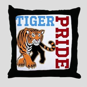 Tiger Pride Throw Pillow