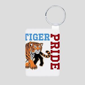 Tiger Pride Aluminum Photo Keychain