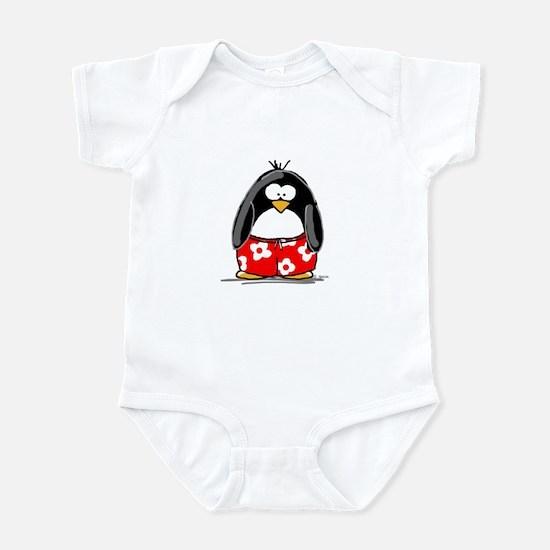Swim Trunk Penguin Infant Creeper