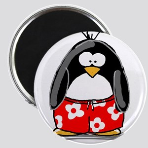 Swim Trunk Penguin Magnet
