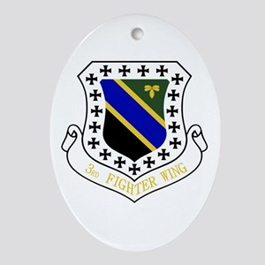 3rd Fighter Wing Ornament (Oval)