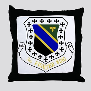 3rd Fighter Wing Throw Pillow