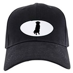 Golden Retriever Silhouette Black Cap