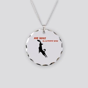 air dogs 1 Necklace Circle Charm