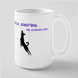 dock jumping 2 Large Mug
