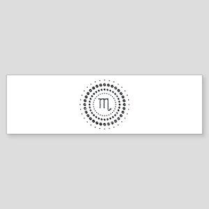 Scorpio Studs Sticker (Bumper)