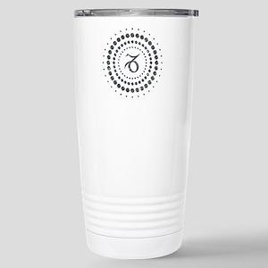 Capricorn Studs Stainless Steel Travel Mug