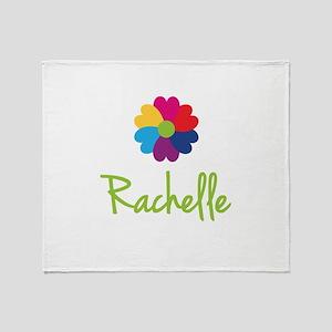 Rachelle Valentine Flower Throw Blanket