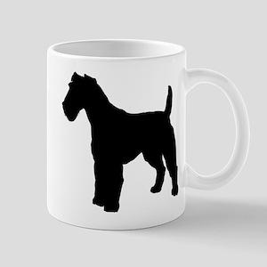 Fox Terrier Silhouette Mug