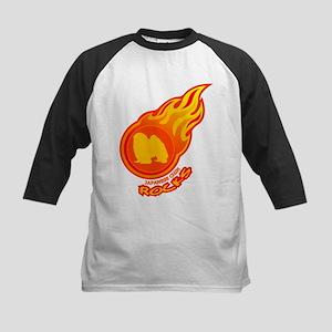 Japanese Chin Kids Baseball Jersey