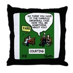 Lawyers in Love Throw Pillow