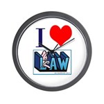 Lawyers in Love Wall Clock