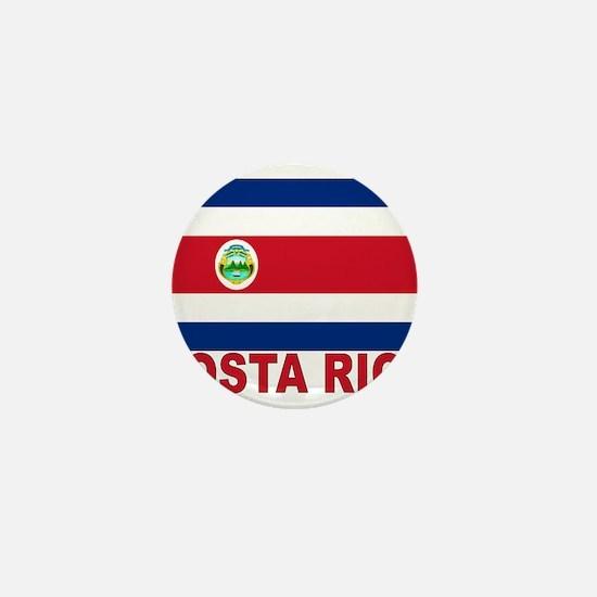 Costa Rica Flag Mini Button