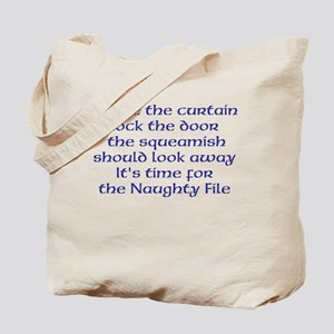 Naughty File Tote Bag