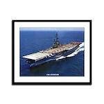 USS ANTIETAM Framed Panel Print