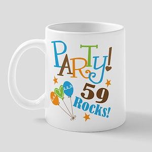 59 Rocks 59th Birthday Mug