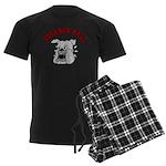 Buckner Hall Bulldogs Men's Dark Pajamas