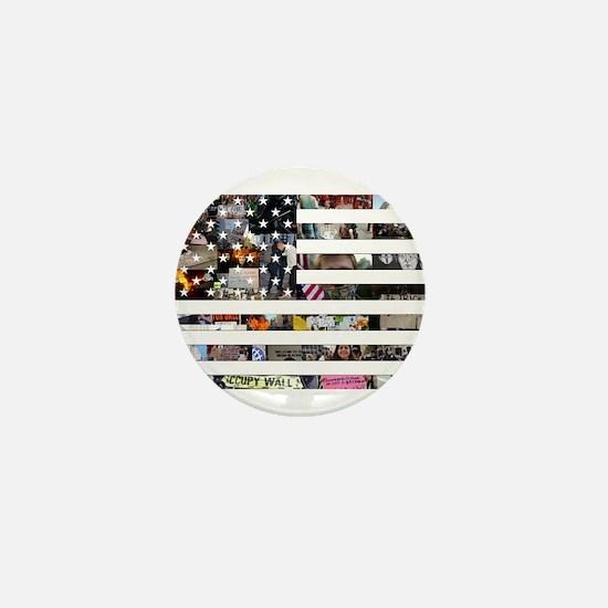 Occupy America Mini Button