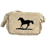 Gallopoing Horse Messenger Bag