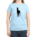 Great Dane Silhouette Women's Light T-Shirt