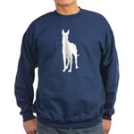 Great Dane Silhouette Sweatshirt (dark)