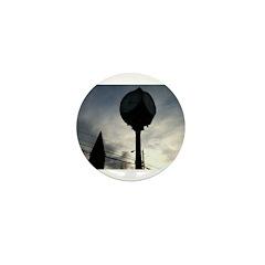 Wolfville Clock (Dark) Mini Button (10 pack)