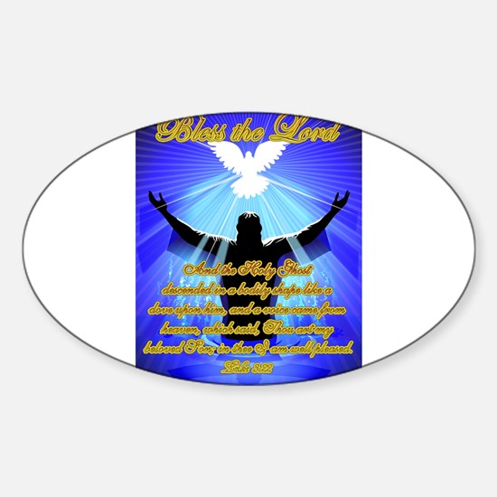 Reborn or Born Again Sticker (Oval)