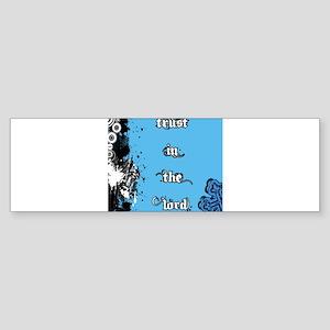 Trust in the Lord Sticker (Bumper)