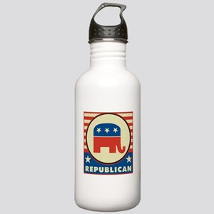 Retro Republican Stainless Water Bottle 1.0L