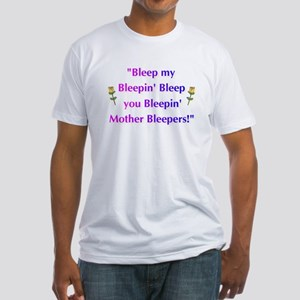 Bleeped! Fitted T-Shirt