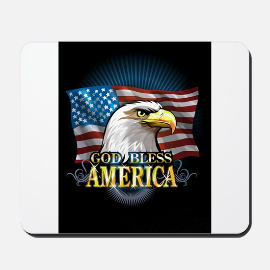 American Flags Mousepad