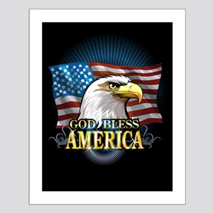 American Flags Small Poster