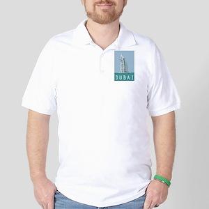 Dubai Burj Al Arab Golf Shirt