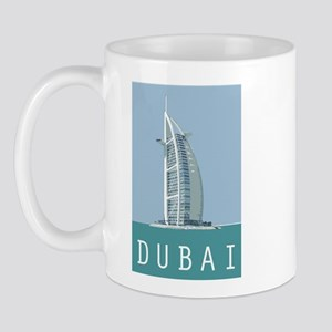 Dubai Burj Al Arab Mug