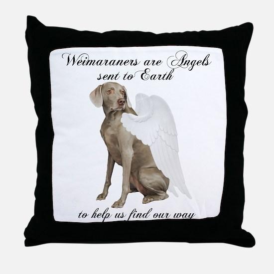 Weimaraner Throw Pillow