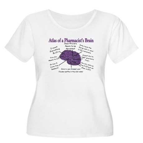 Atlas Of... Women's Plus Size Scoop Neck T-Shirt
