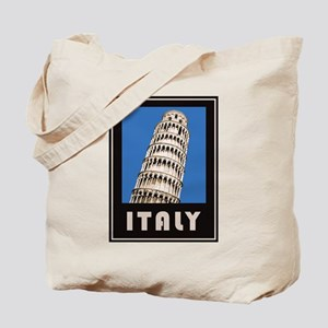 Italy Leaning Tower Of Pisa Tote Bag